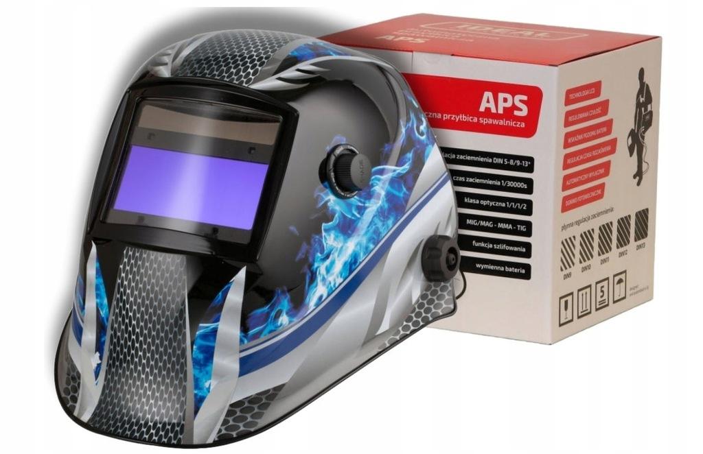 Przyłbica automatyczna APS-616G METAL FLAME