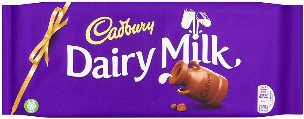 Cadbury Dairy Milk Czekolada 360g UK