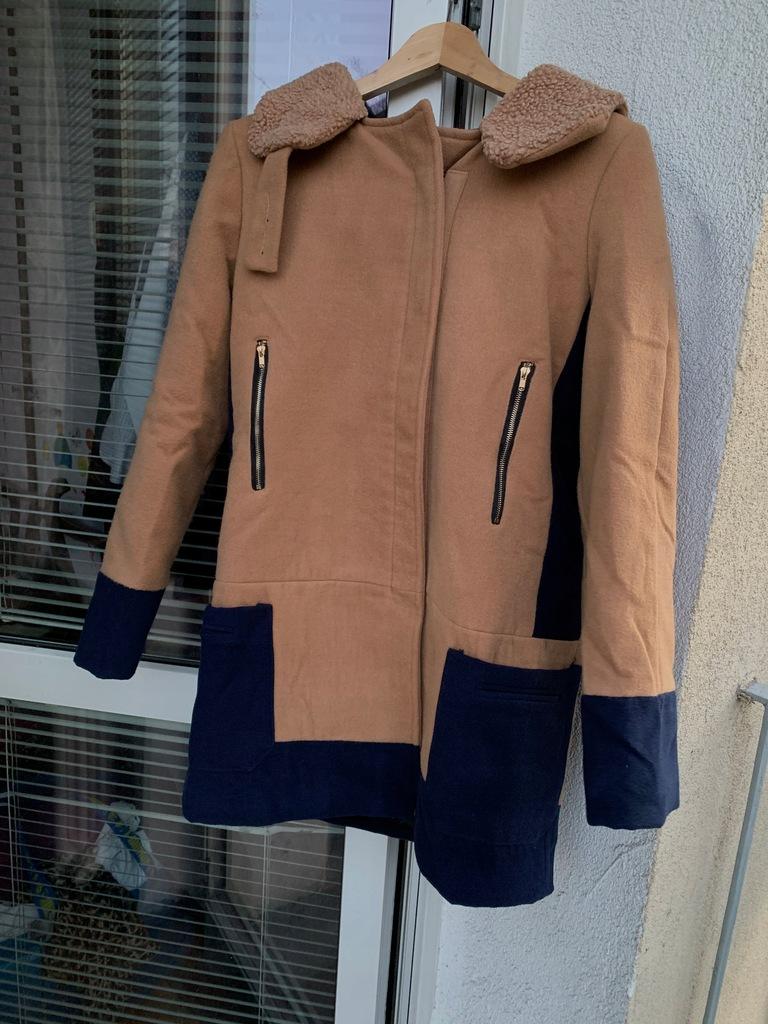 Elegancki płaszcz damski r 38