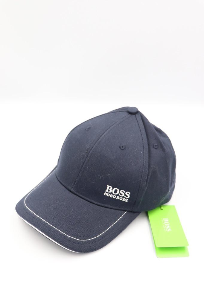 Czapka z daszkiem Hugo Boss czarna zielona biała