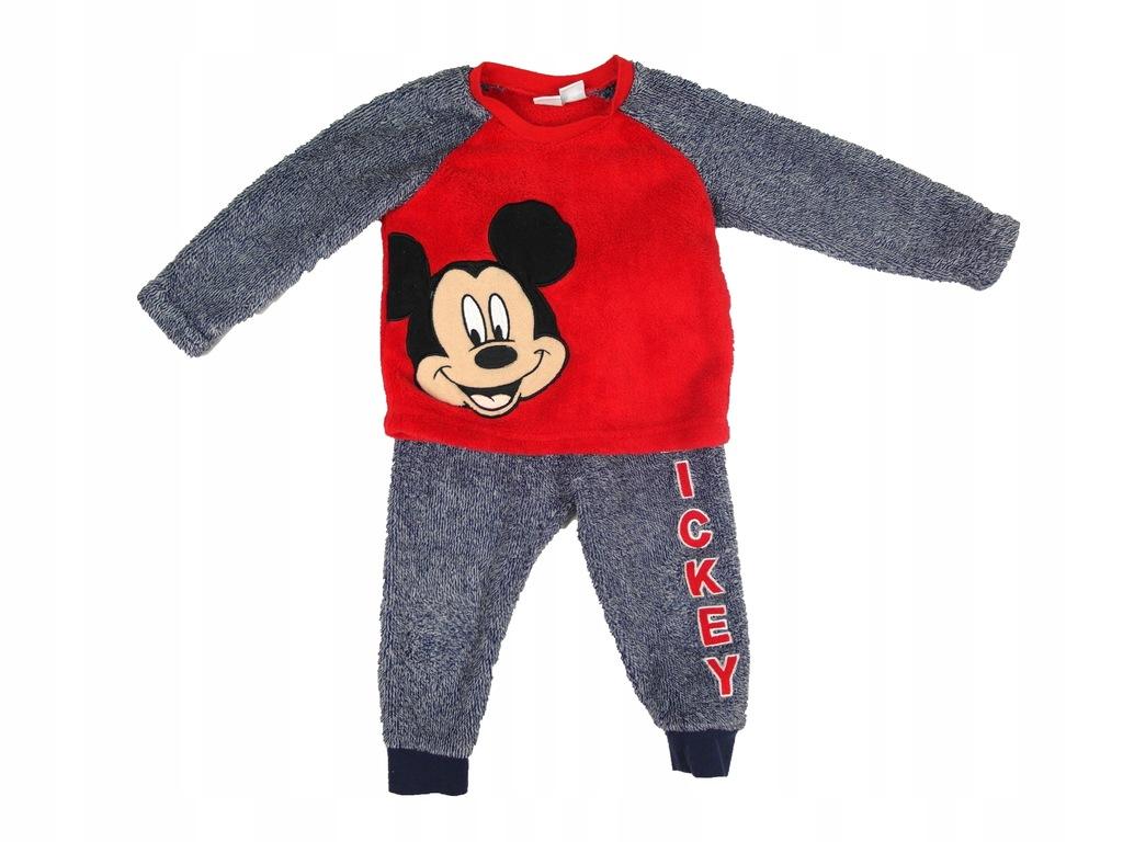 Granatowo-czerwony dres Disney Myszka Mickey 86