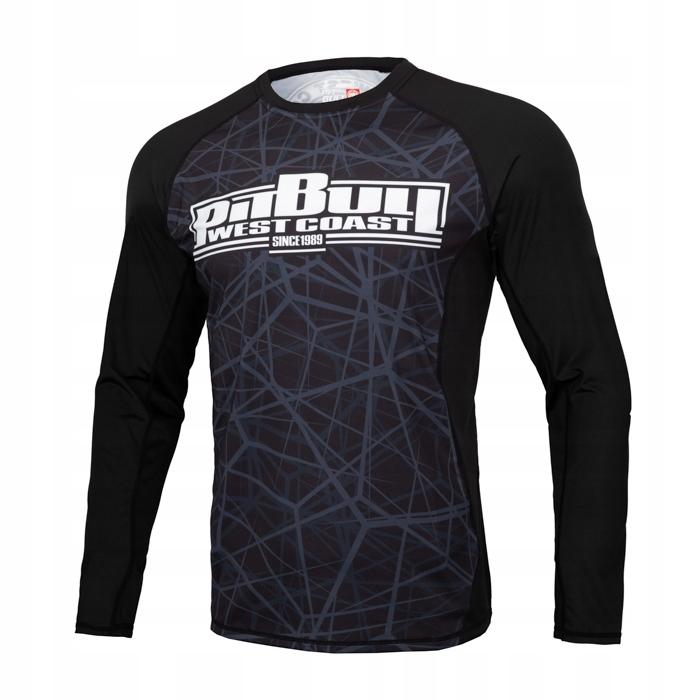 Pit Bull koszulka TERMOAKTYWNA RASHGUARD MMA _L