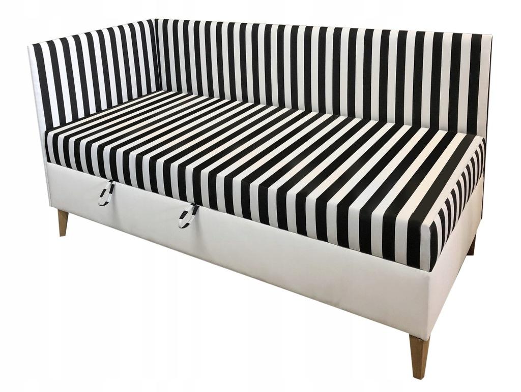 INTARO 16 łóżko tapicerowane z pojemnikiem 80x200