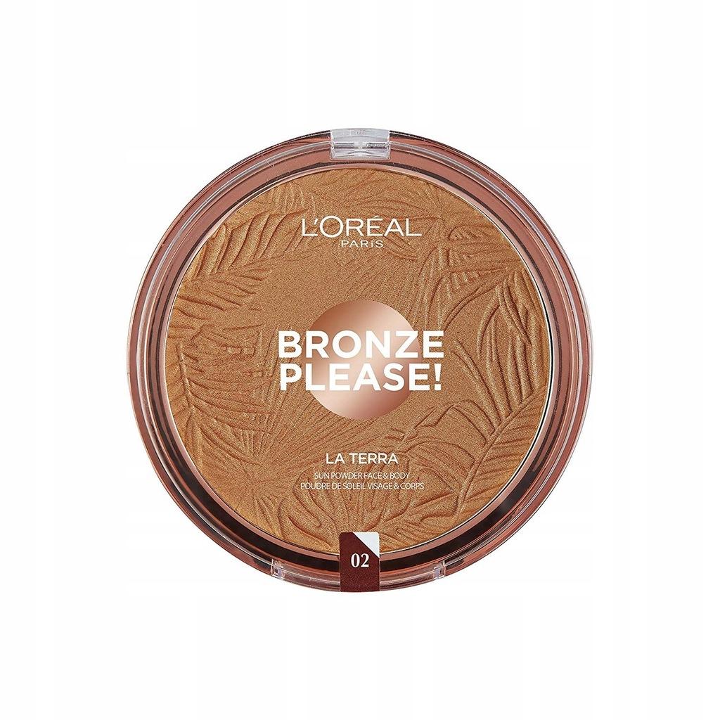 L'Oreal bronzer 02 Capri Naturale Bronze Please La