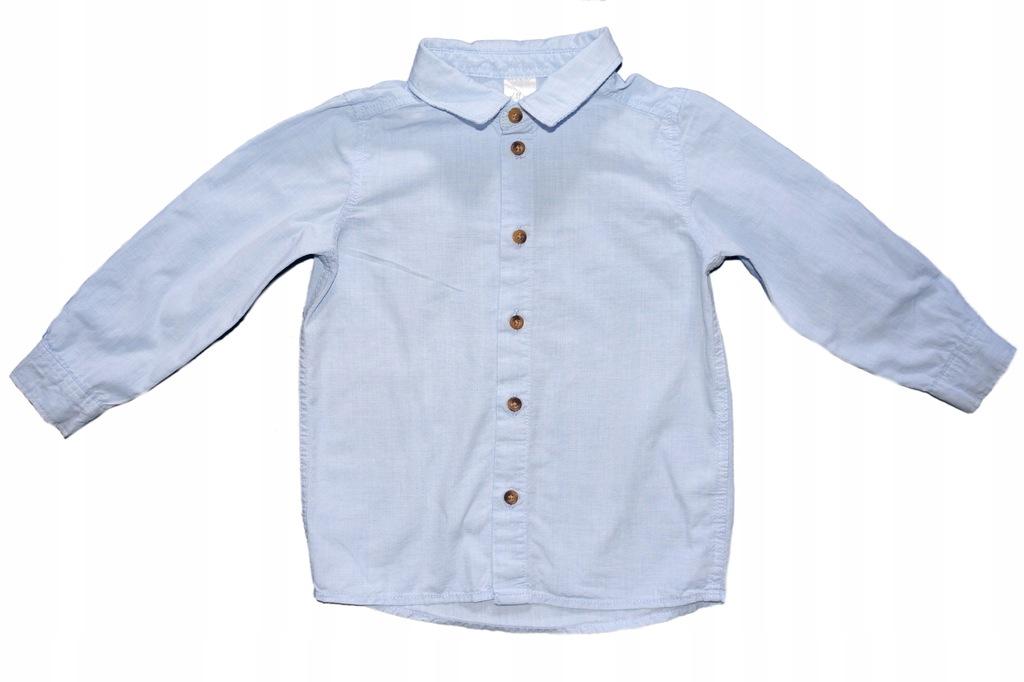 Koszula z kołnierzem długi rękaw H&M 92 1.5-2Y