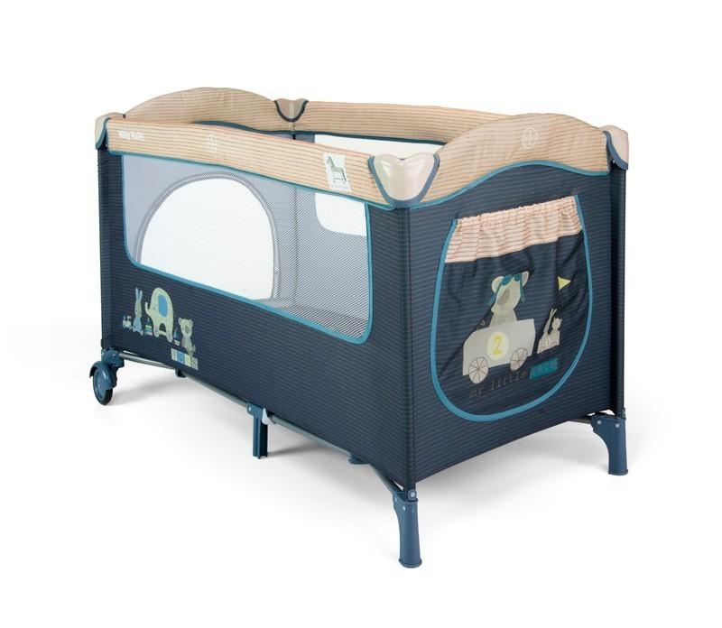 Łóżeczko turystyczne Mirage Blue Toys