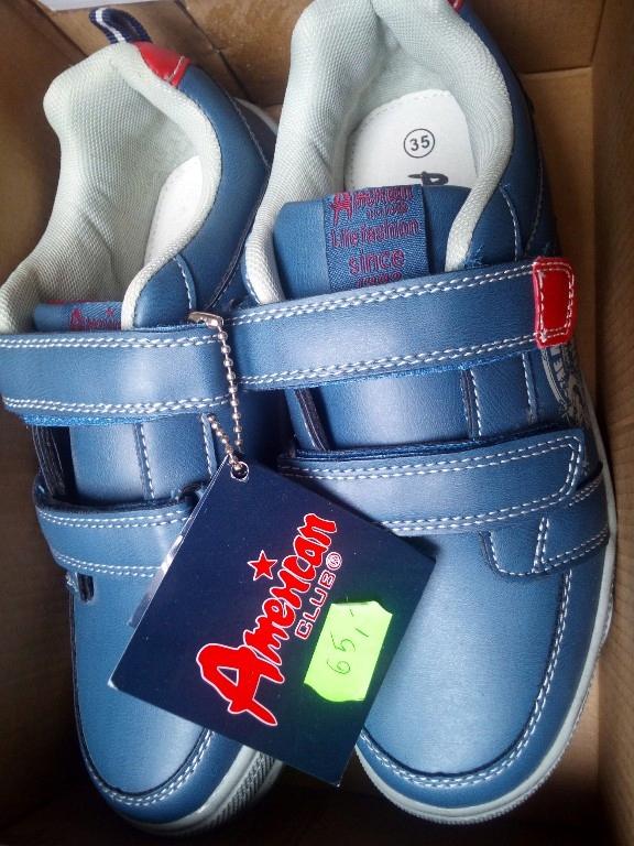 buty sportowe chłopięce American club 35