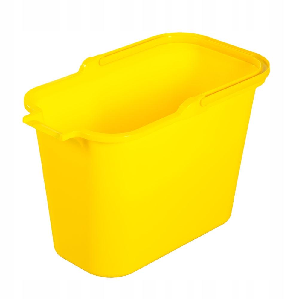 Wiadro prostokątne plastikowe do mopa 12 l bentom