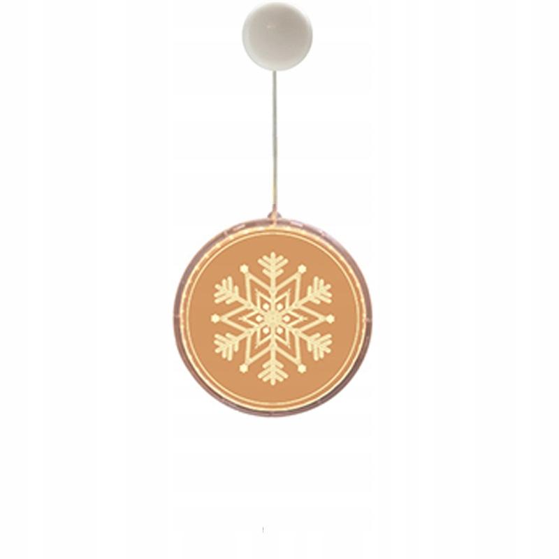 Żyrandol bożonarodzeniowy w stylu , płatki śniegu