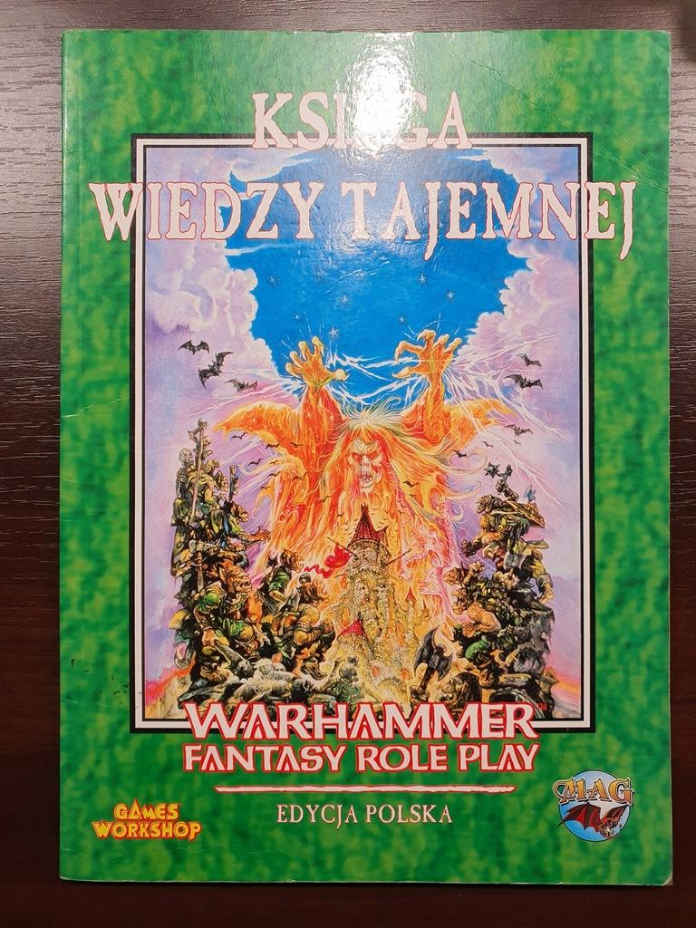 KSIĘGA WIEDZY TAJEMNEJ - Warhammer RPG - 1 ed.