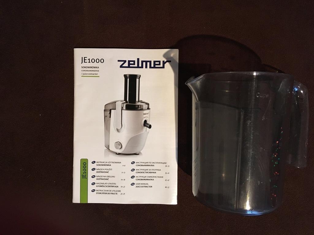 Sokowirówka Zelmer JE 1000 Symbio 7609355022 oficjalne