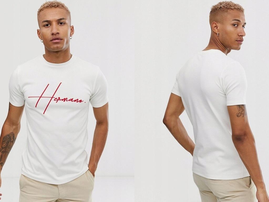 Hermano Koszulka z logo na piersi M