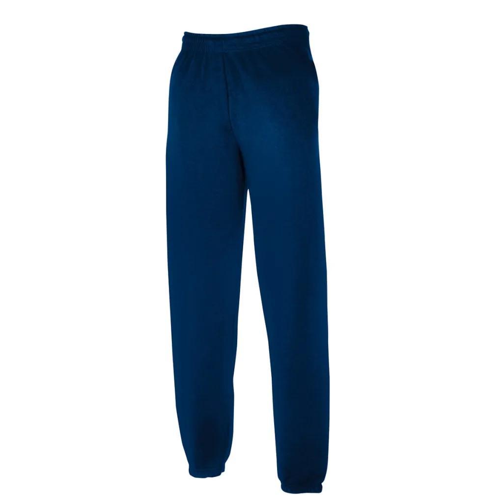 Granatowe Spodnie Dresowe Ze Ściągaczami Rozmiar S
