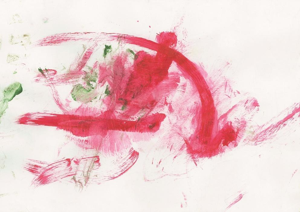 Obraz namalowany przez orangutanicę Gdańsk ZOO