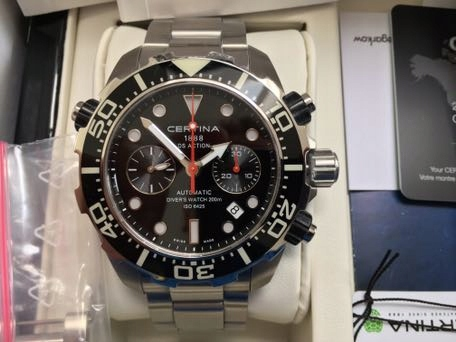 Certina DS Action Chrono automatic ISO diver