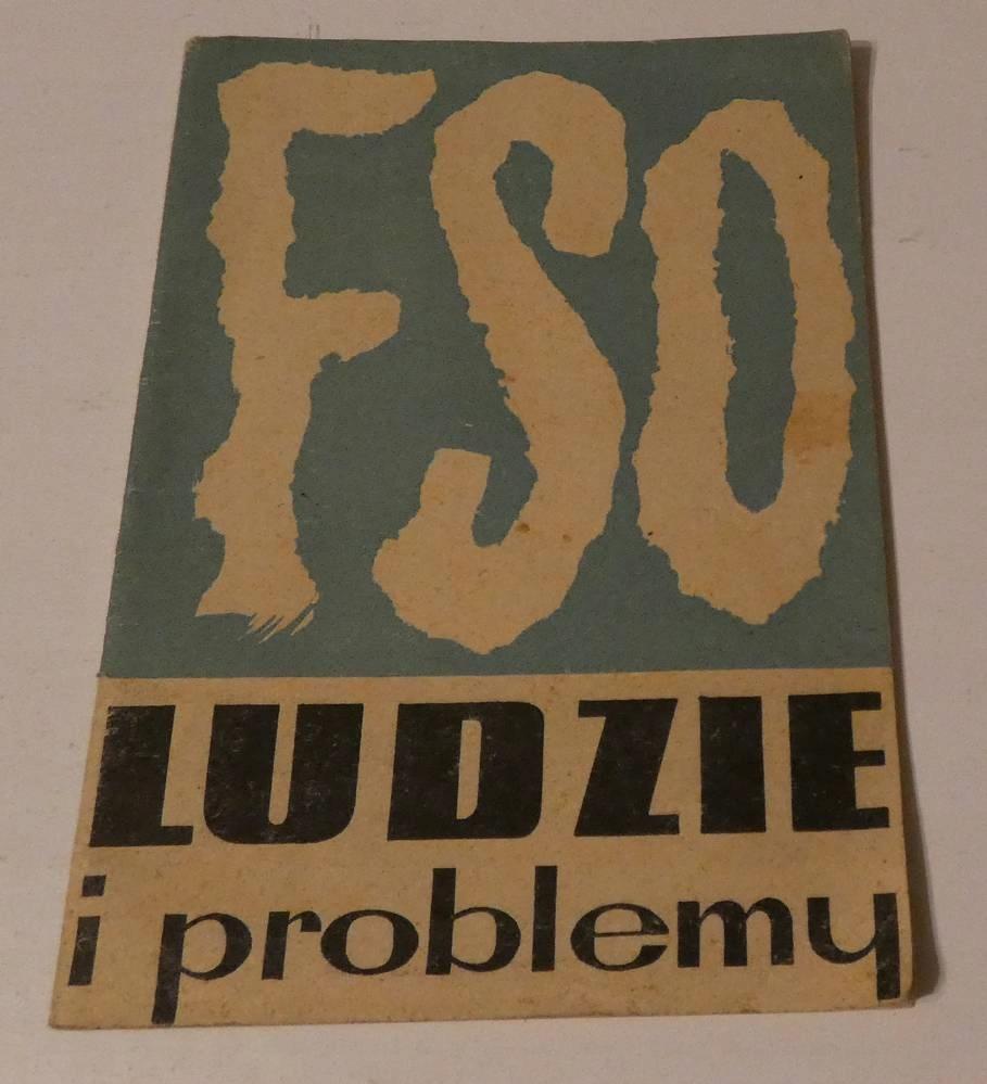 FSO ludzie i problemy 1964 folder red Majewski