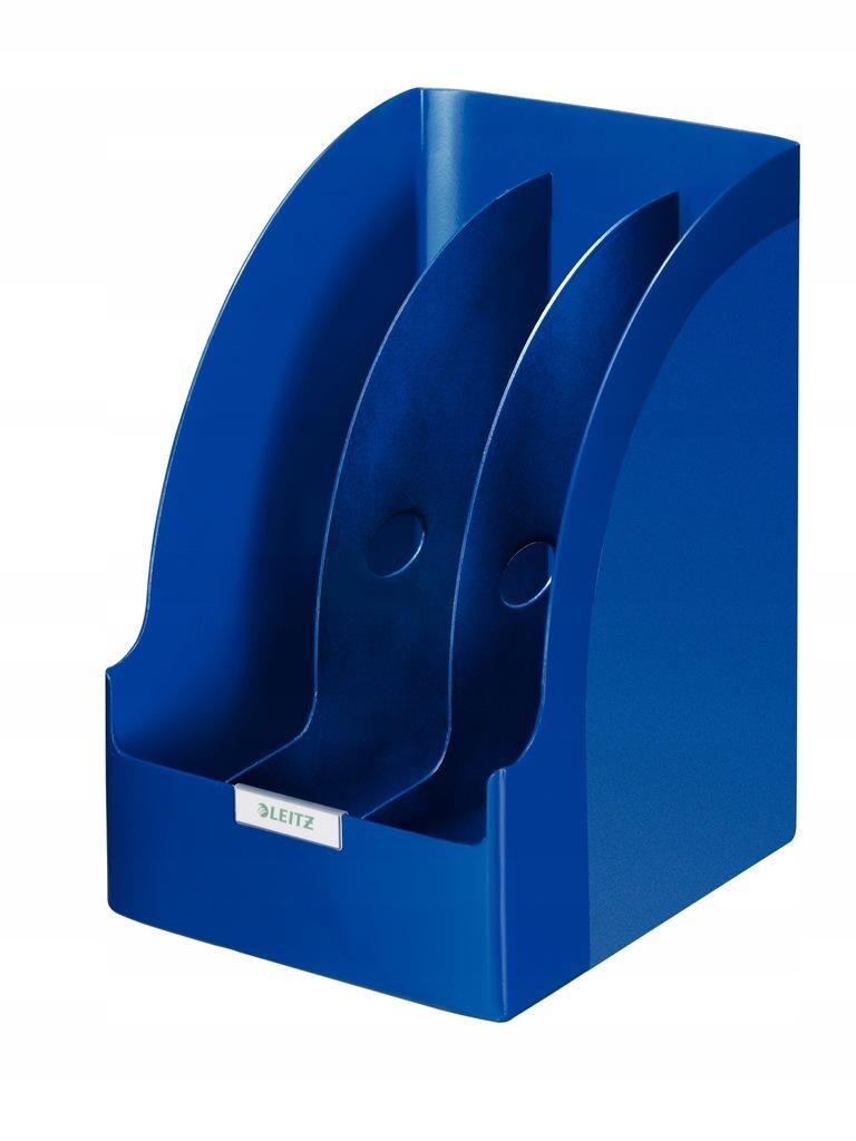 Pojemnik z przekładkami Leitz Plus Jumbo, niebiesk