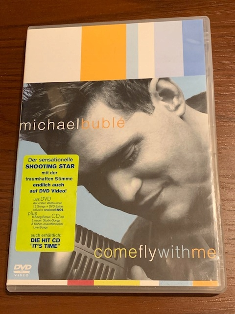 MICHAEL BUBLE - Come Fly With Me LIVE DVD + CD