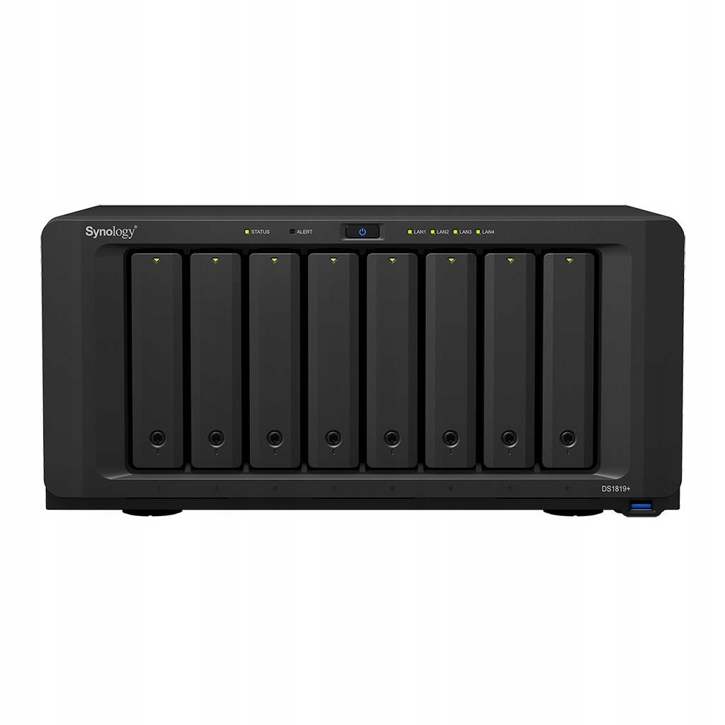 Synology DS1819+, 8-Bay SATA, Intel 4C 2,1GHz, 4GB