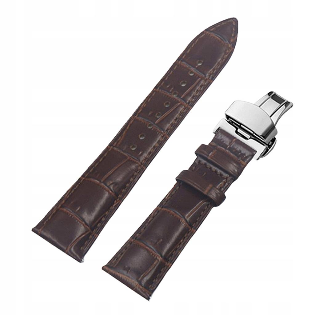 Pasek do zegarka - 18mm brązowy