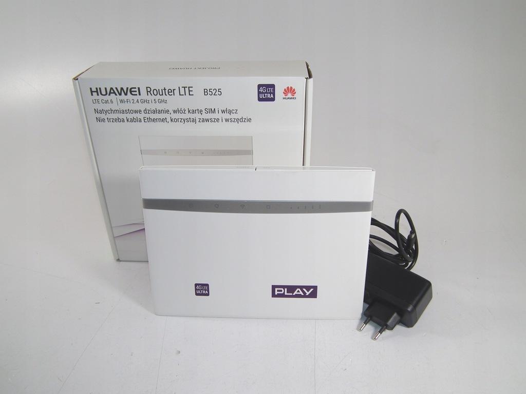 Router Huawei B525 4G LTE biały