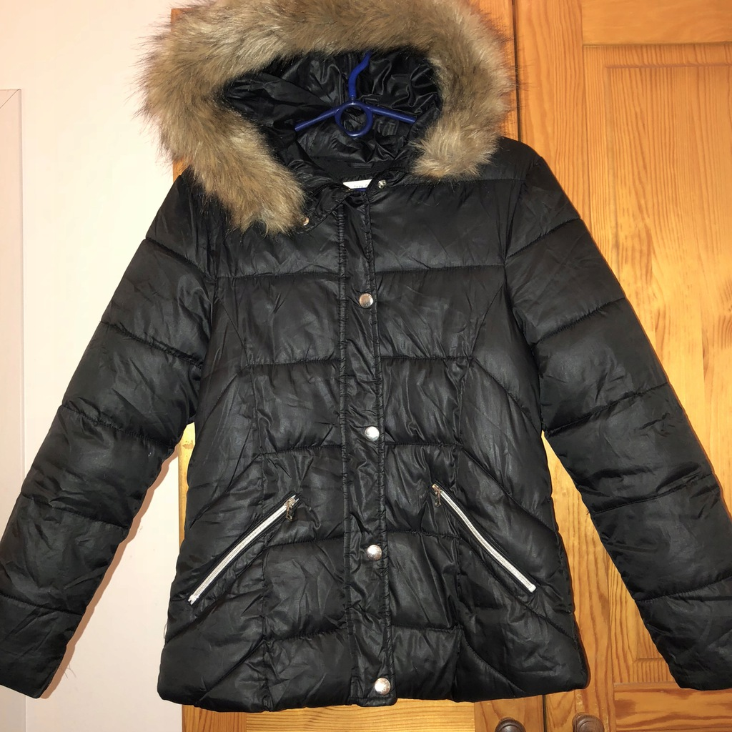 kurtka zara basic kids zimomwa czatna