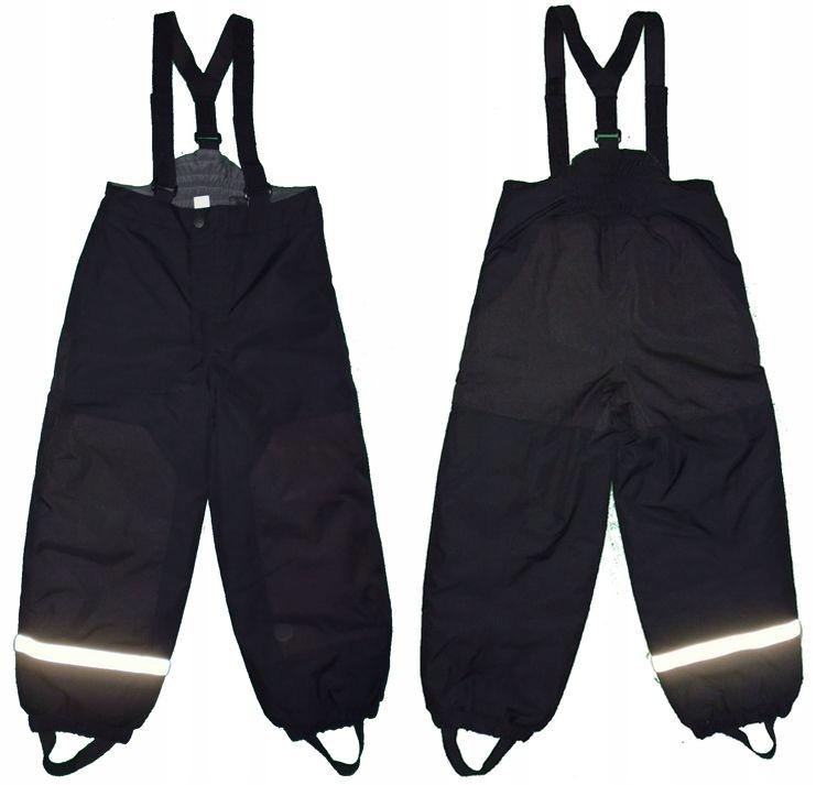 Spodnie ocieplane H&M roz 128 (7-8 lat)