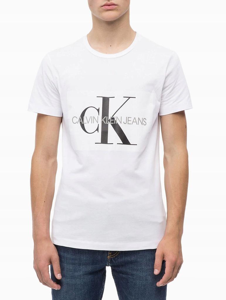 T-shirt Koszulka Calvin Klein Custom Fit Roz. L