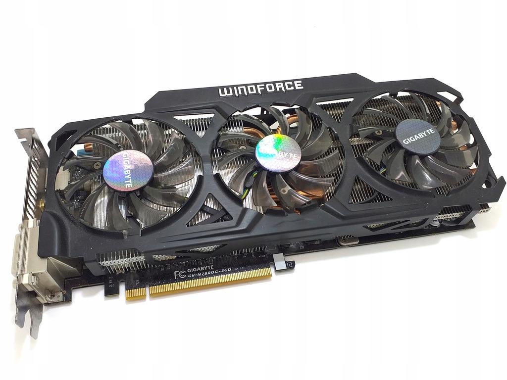 Gigabyte Geforce Gtx 780 Ghz Windforce 8516565124 Oficjalne Archiwum Allegro