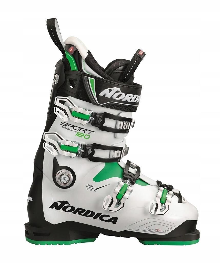 Buty narciarskie Nordica Sportmachine 120 Biały 27