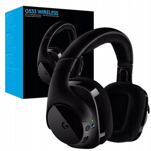 Słuchawki bezprzewodowe z mikrofonem Logitech G533