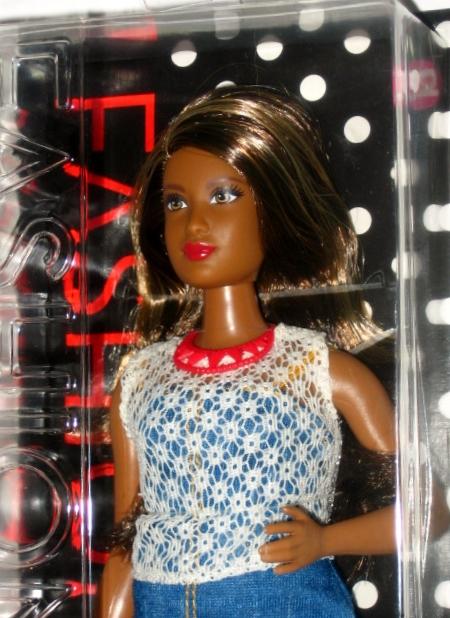 Barbie Fashionistas Doll 32 Dolled up Denim Curvy