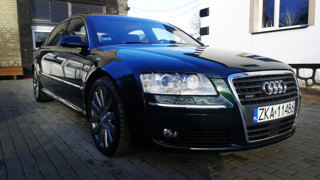 Audi A8 D3 Lift W12 6 0 Long Exclusive 7871533387 Oficjalne Archiwum Allegro