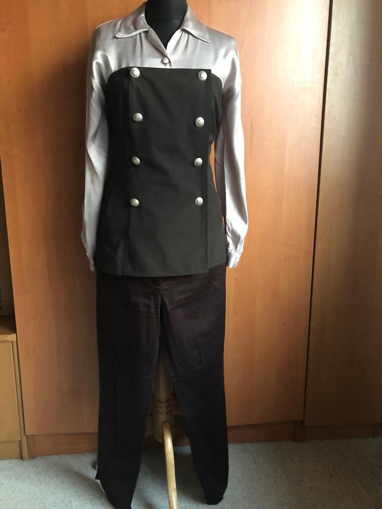 HIT Spodnie+Kamizelka+Koszula 38/40/42 nowy?