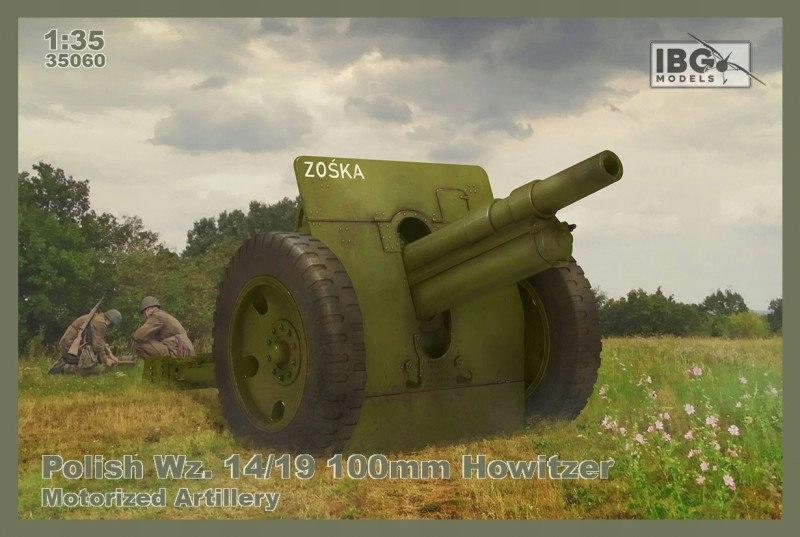 Model plastikowy Polish Wz.14/19 100 mm Howitzer-M