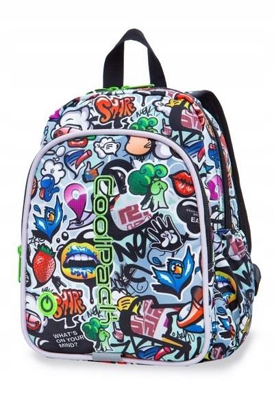Coolpack - Bobby - Plecak Dziecięcy - Led Graffit