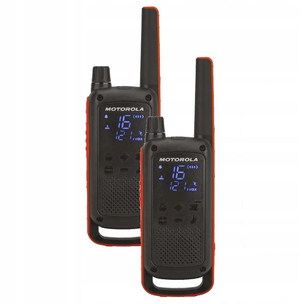 Krótkofalówka radiotelefon Motorola Talkabout T82 dwupak +