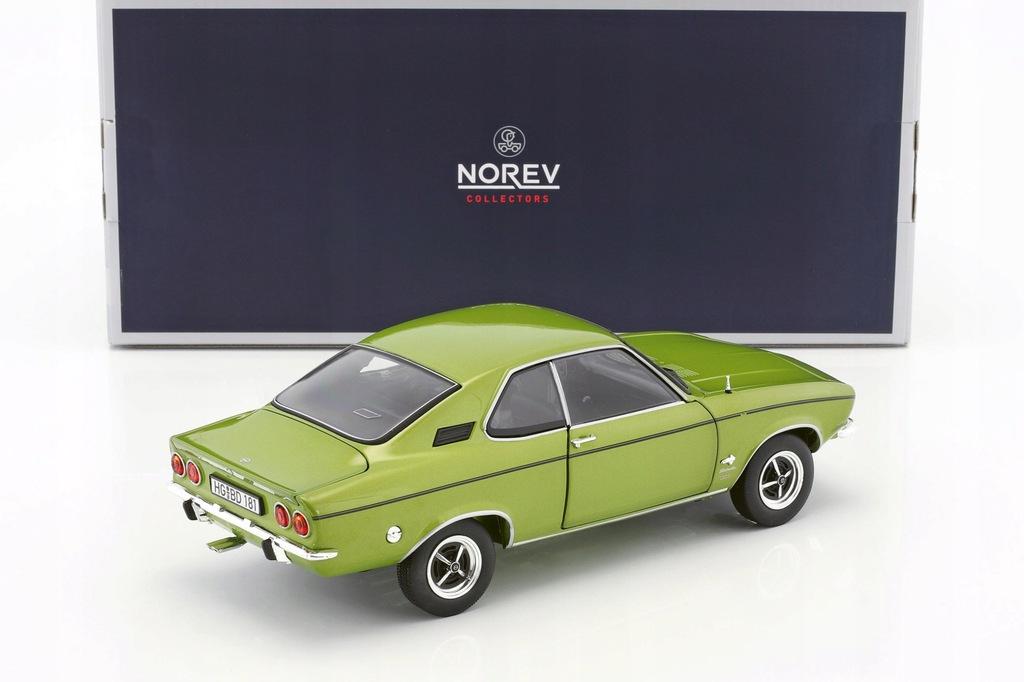 1:18 Norev Opel Manta A 1970 Lemon Green met