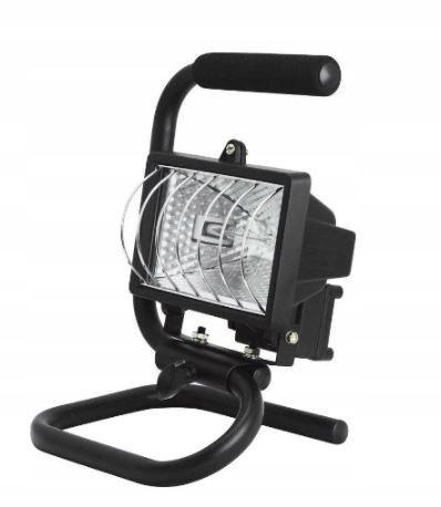 Reflektory halogenowe BRICK IP44 150W statyw raczk