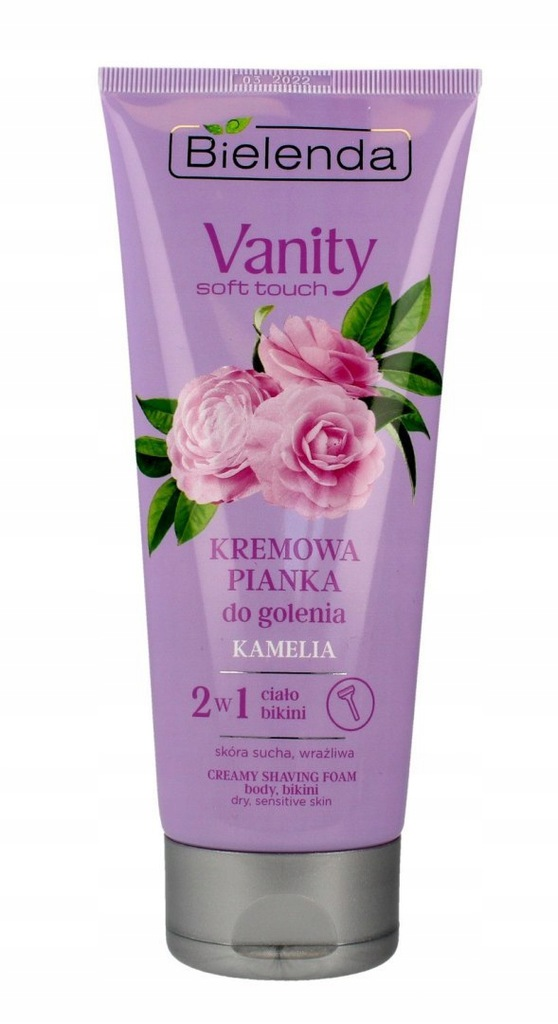 Bielenda Vanity Soft Touch Kremowa Pianka do golen