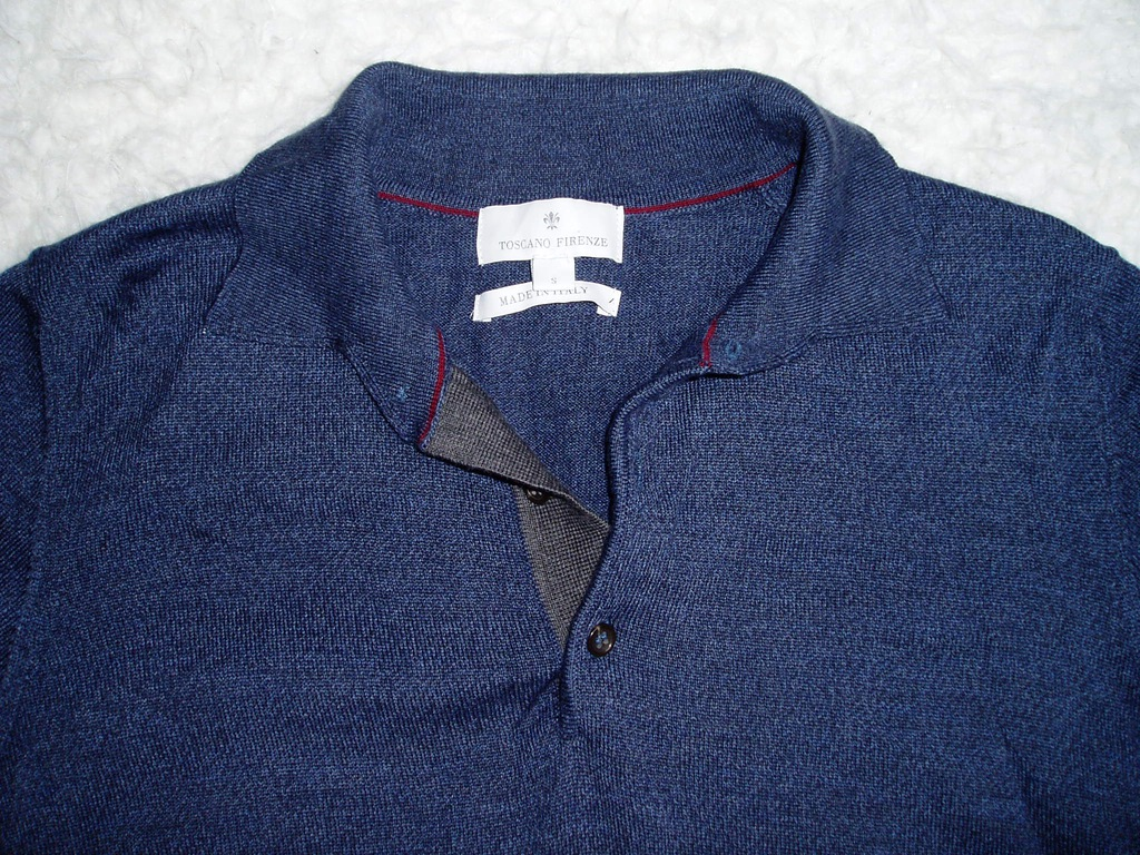 TOSCANO FIRENZE - nowy, włoski, wełniany sweter/S