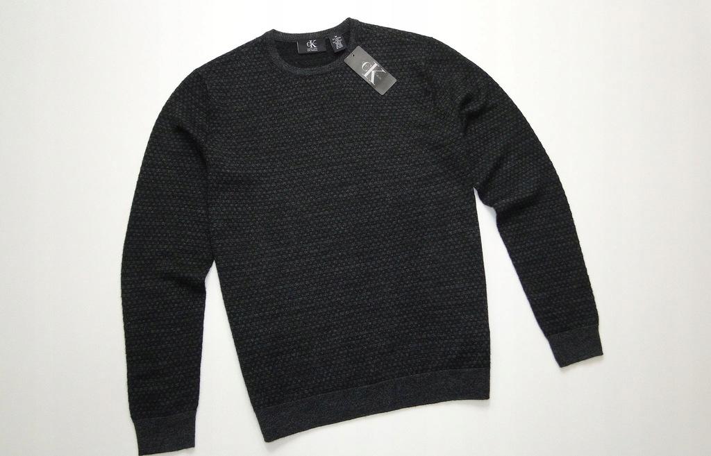 Sweter CALVIN KLEIN Merino Wool Welniany / M
