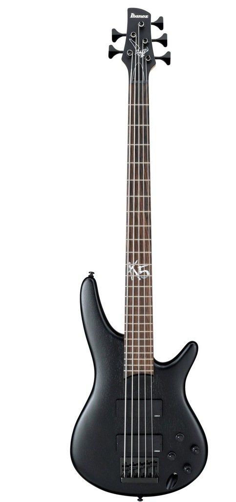 Ibanez K5-BKF - gitara basowa 5 strunowa