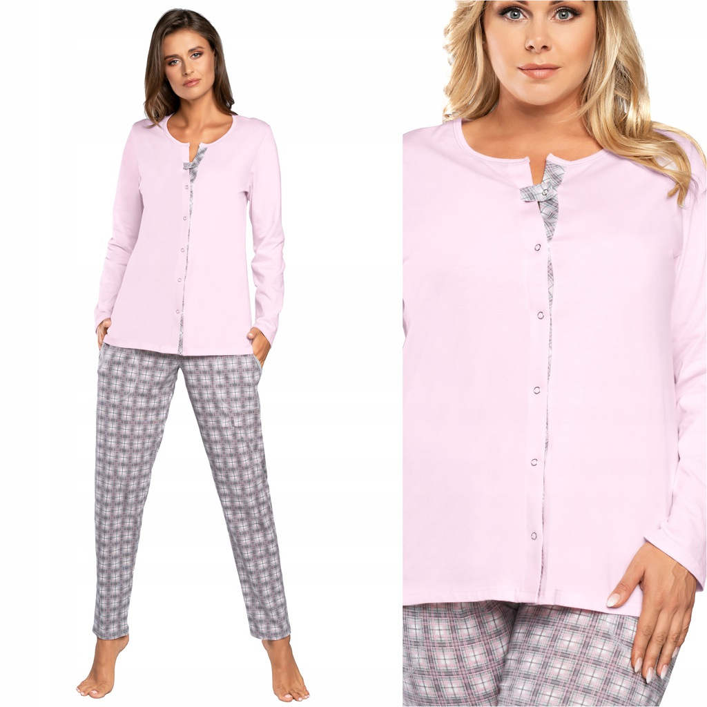 Italian Fashion Gizela piżama damska rozpinana XL