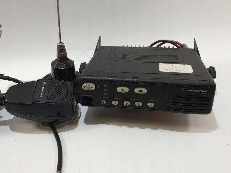 RADIOTELEFON MOTOROLA GM350 4 KAN 136-174MHZ