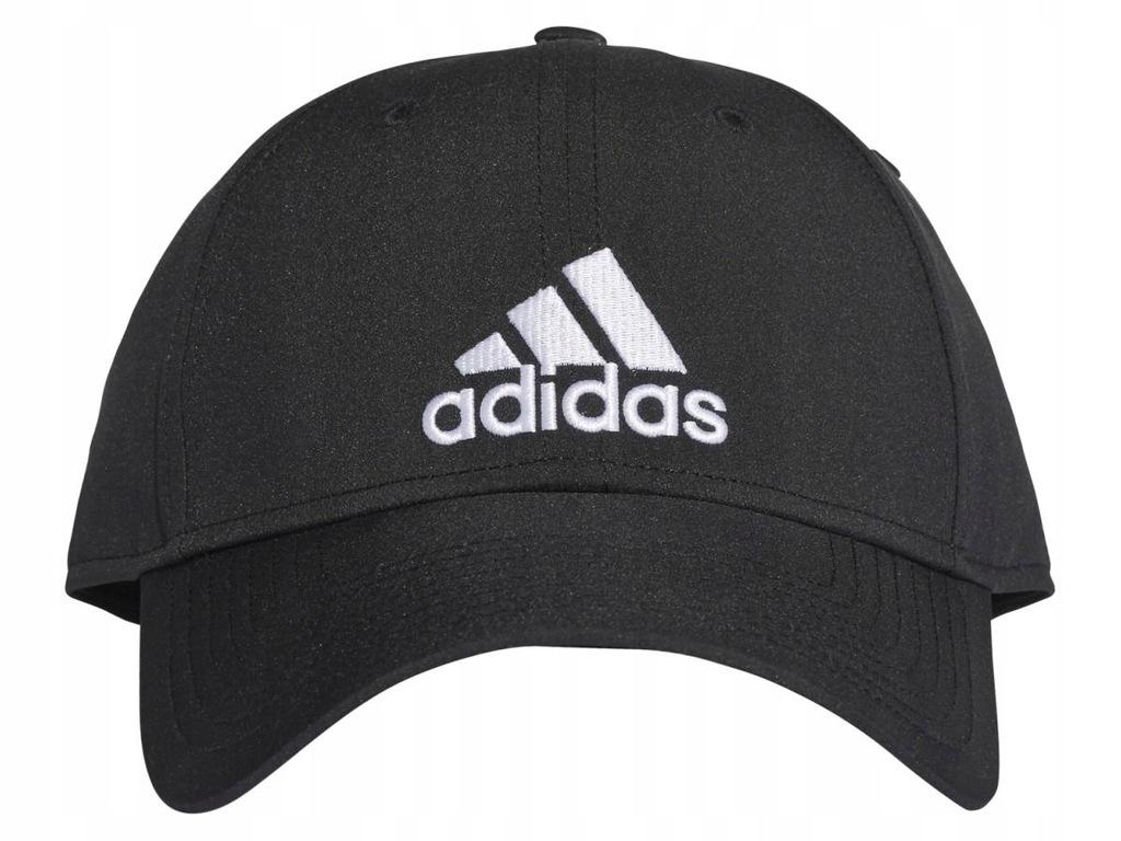 Czapka z daszkiem męska adidas 6P Cap LTWGT OSFM czarna S98159