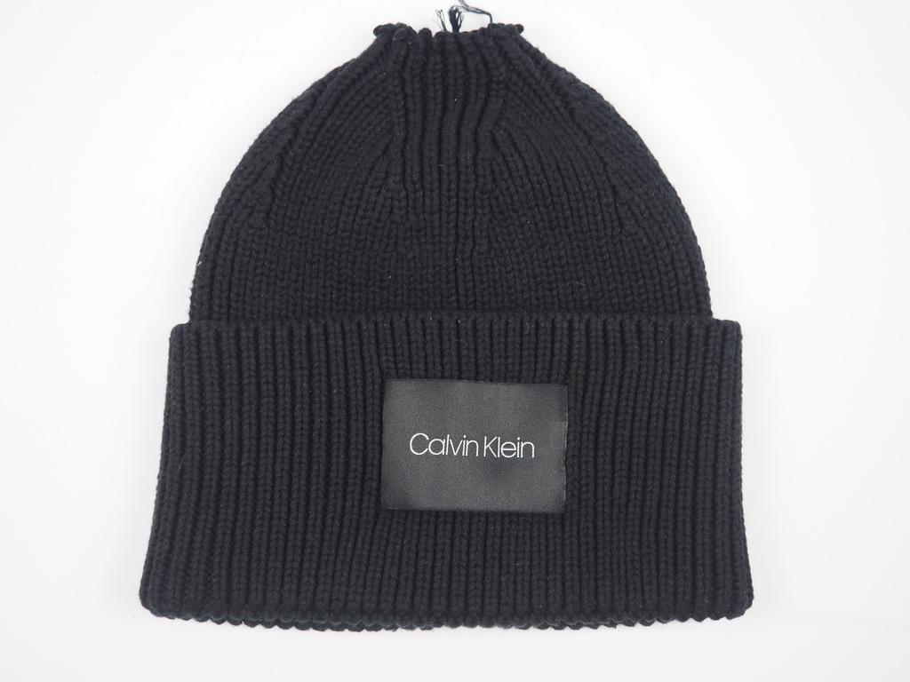 WEA46 Calvin Klein - ciepła czapka zimowa