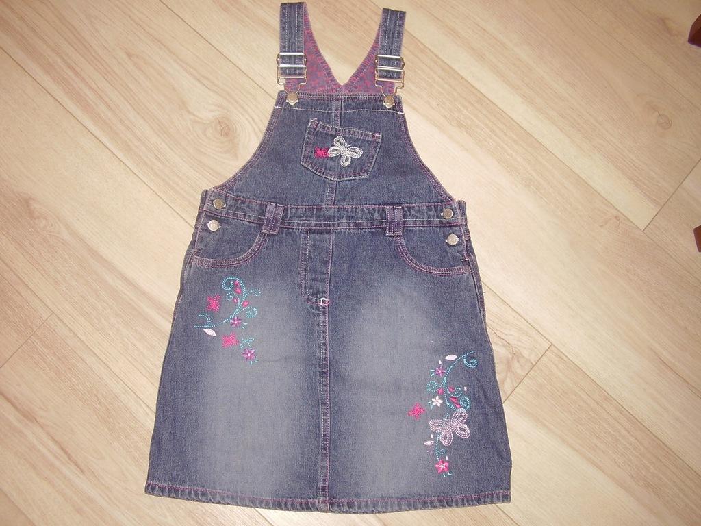Spódniczka jeans r.110
