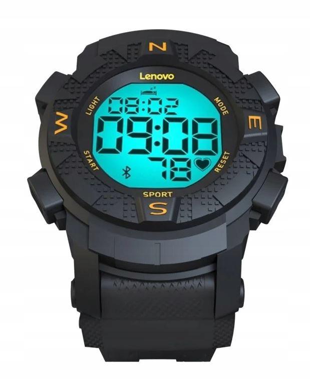 Smartwatch LENOVO EGO HX07 czarny nowy