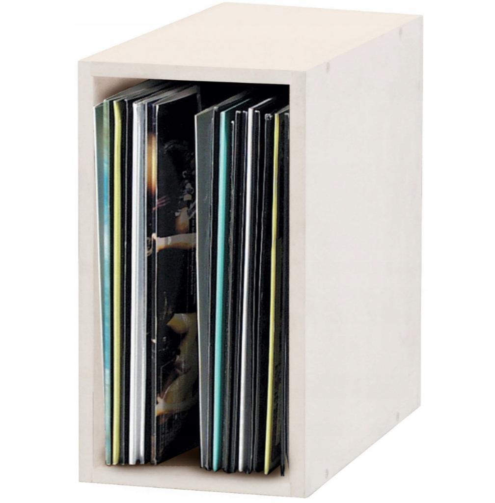 Glorious Record Box 55 White segregator winylowe